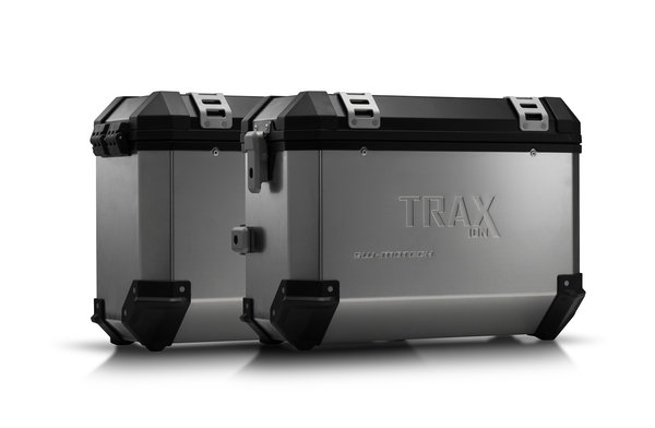 TRAX ION aluminium case system Silver. 37/37 l. BMW F650GS (-07) / G650GS (11-)