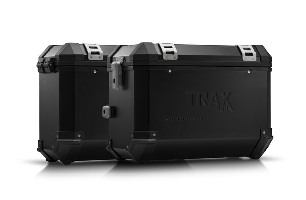 TRAX ION Alukoffer-System Schwarz. 45/37 l. Triumph Tiger 800 Modelle (10-).