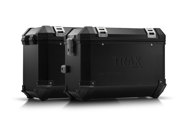TRAX ION aluminium case system Black. 45/45 l. Kawasaki Versys 650 (15-).