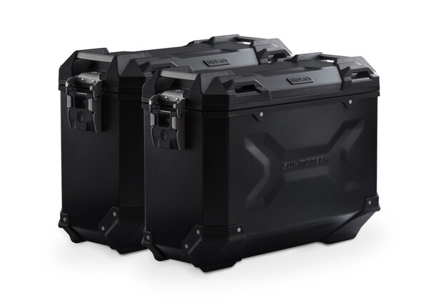 Kit valises TRAX ADV Noir. 37/37 L. Honda NC700 S/X, NC750 S/X.