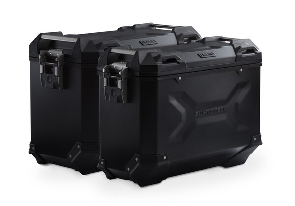 TRAX ADV Alukoffer-System Schwarz. 37/45 l. BMW F 800 R (09-)/F 800GT (12-).