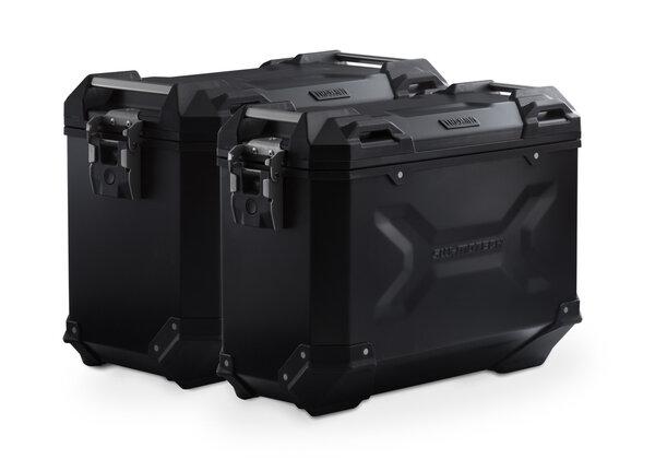 Sistema valigie in alluminio TRAX ADV Nero. 37/45 l. Yamaha XT1200Z Super Teneré.