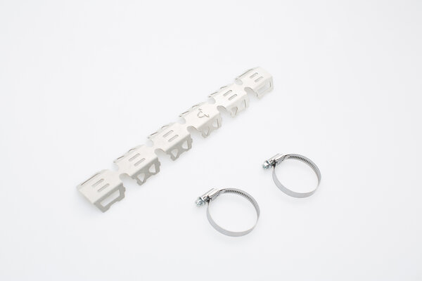 Header pipe guard For header pipe with Ø 32-50 mm. Silver. Universal