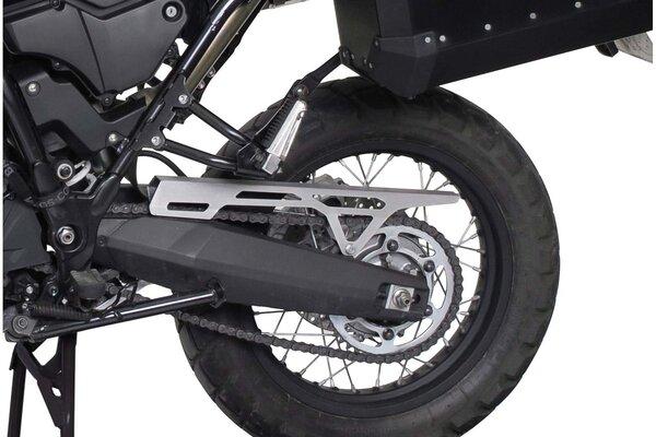 Chain guard Silver. Yamaha XT660Z Tenere (07-16).