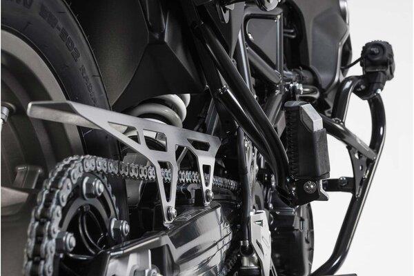 Protection de chaine Gris. BMW F 650 GS / F 700 GS / F 800 GS.