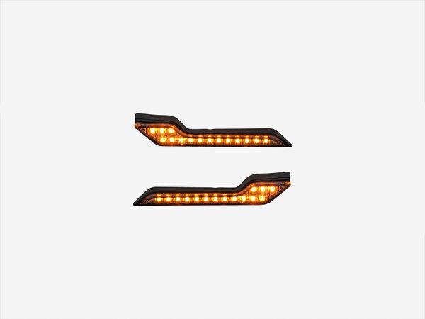 Barkbusters LED Blinker Gelbes Licht. Als Paar. Mit ECE-Prüfzeichen.