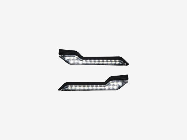 Luce di limitazione LED Barkbusters Luce bianca. In coppia.