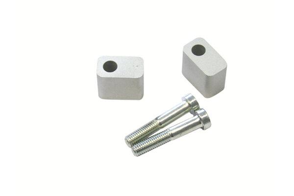 Lenkererhöhung H=30 mm. Silbern. KTM.