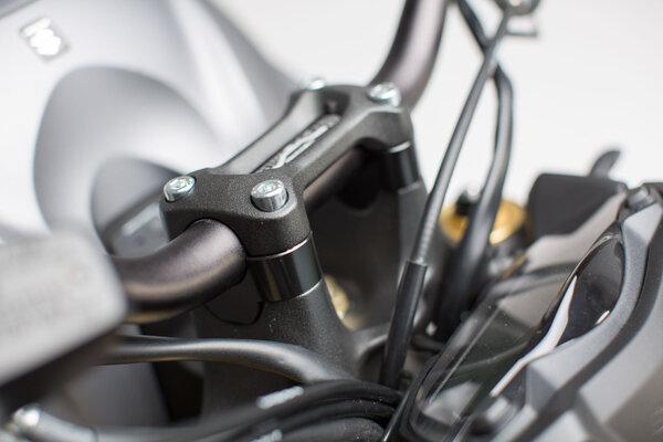 Lenkererhöhung H=20 mm. Schwarz. Suzuki GSX-S 1000 / F (15-).