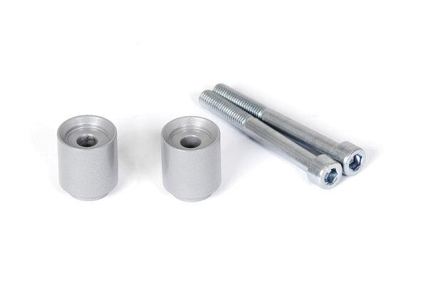 Bar riser H=30 mm. Silver. BMW F700GS, F800GS/Adventure.