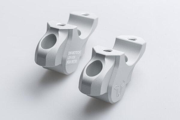 Lenkerverlegung H=32 mm. Verlegung um 25 mm. Silbern. BMW-Modelle.