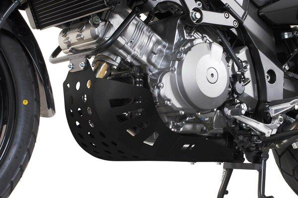 Protector de motor Negro. Suzuki DL 1000 V-Strom / Kawasaki KLV 1000.
