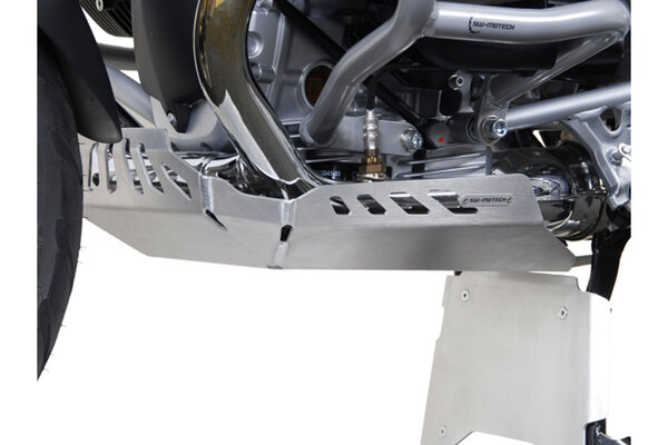 Motorschutz Silbern. BMW R 1200 GS (04-12)/ Adventure (08-13).