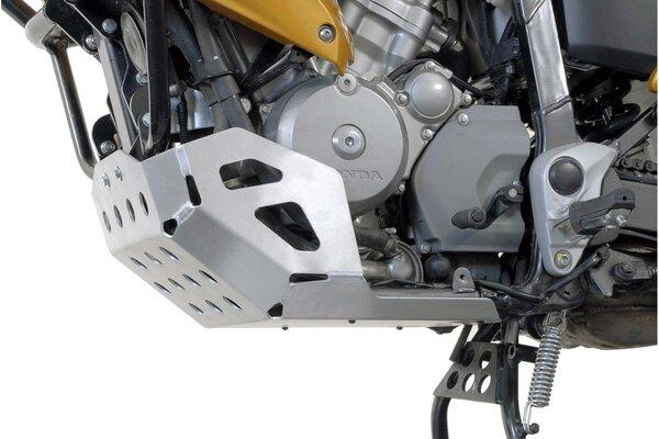 Motorschutz Silbern. Honda XL700V Transalp (07-12).