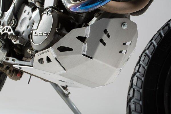 Protezione motore Argento. KTM 620 Adventure (96-99).