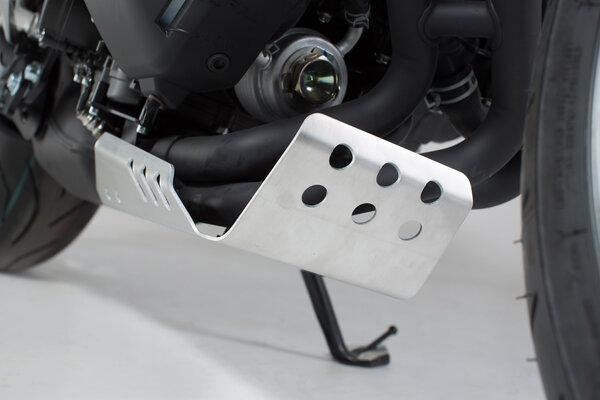 Motorschutz Silbern. Yamaha XSR 900 (15-), MT-09/Tracer (14-).