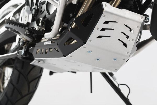 Sabot moteur Noir/Gris. BMW GS-modèles / Husqvarna Nuda 900.