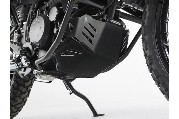 Engine guard Black. Kawasaki KLR 650 (08-).