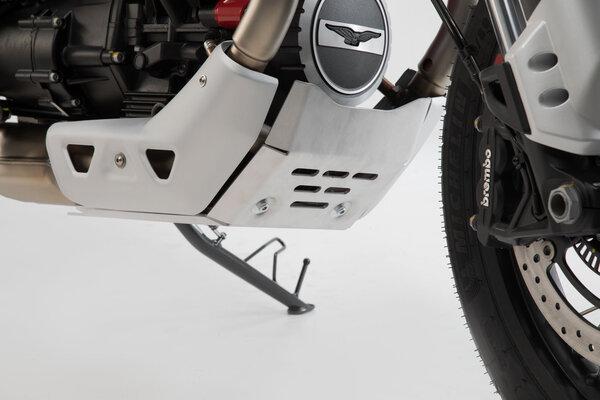 Motorschutz Silbern. Moto Guzzi V85 TT (19-).