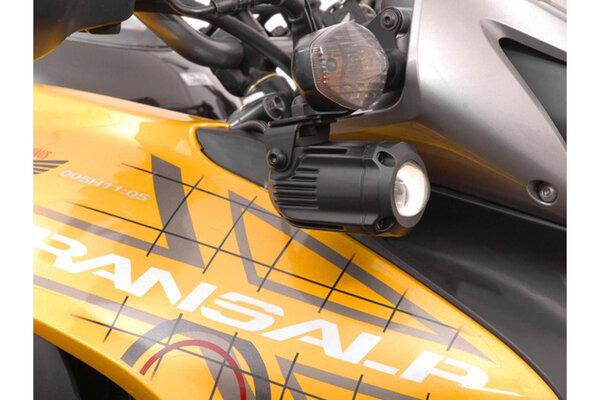 Scheinwerfer-Halter Schwarz. Honda XL700V Transalp (07-12).