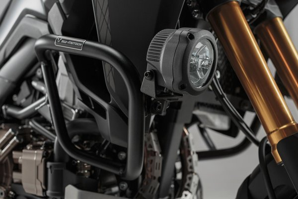 Scheinwerfer-Halter Schwarz. Für Honda CRF1000L (15-) mit Sturzbügel.