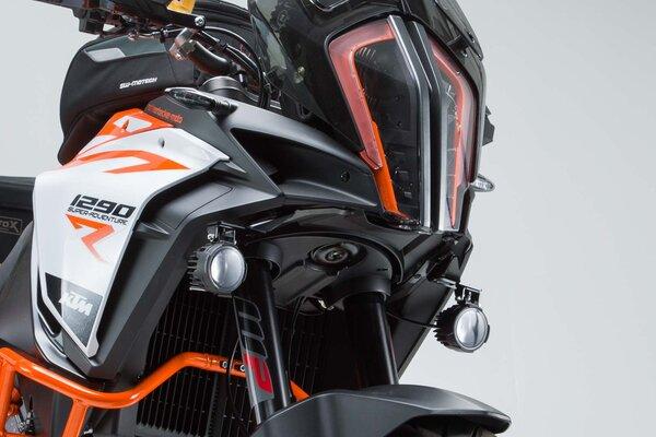 Light mounts Black. KTM 1290 Super Adventure S / R (16-).