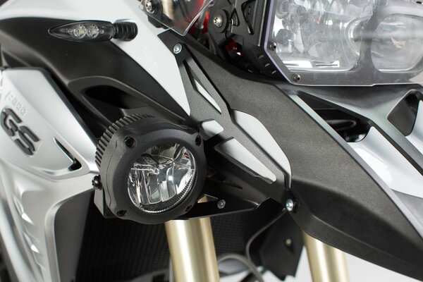 Supports pour feux additionnels Noir. BMW F 800 GS (12-).