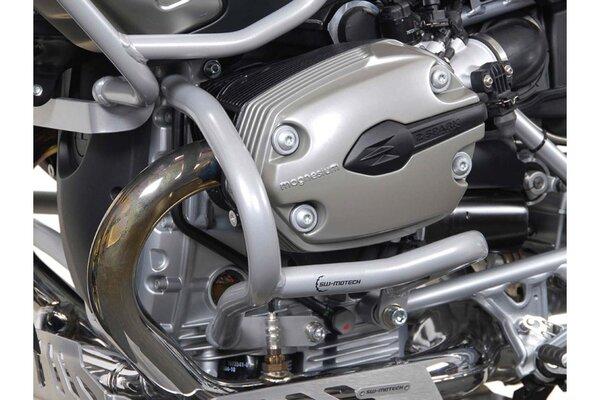 Protecciones laterales de motor Plateado. BMW R 1200 GS (04-12).