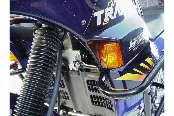 Protecciones laterales de motor Negro. Honda XL 600 V Transalp (87-99).