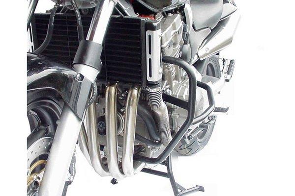 Protecciones laterales de motor Negro. Honda CB 900 Hornet (02-07).