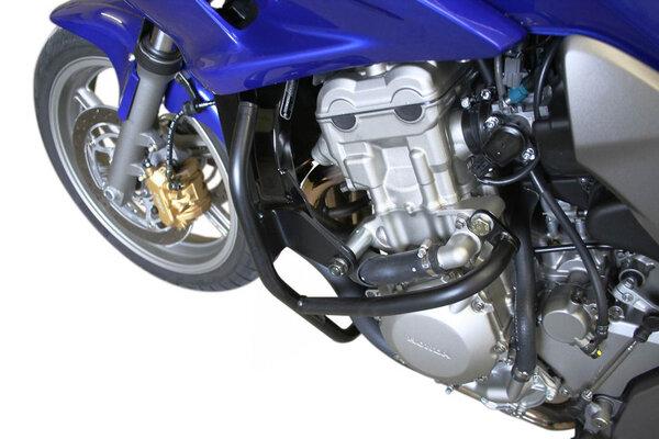 Protecciones laterales de motor Negro. Honda CBF 1000 (06-09).