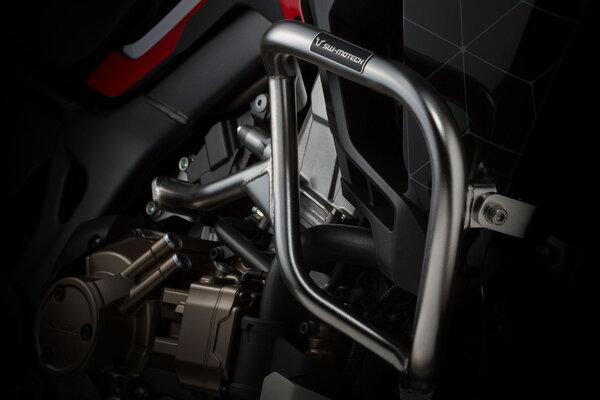 Sturzbügel Edelstahl. Honda CRF1000L Africa Twin (15-).