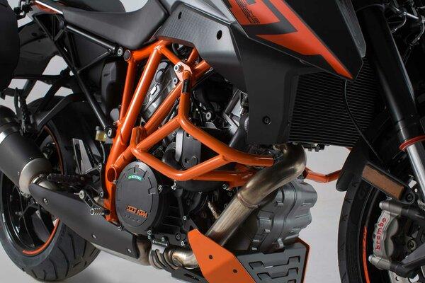 Crash bar Orange. KTM 1290 Super Duke R / GT.