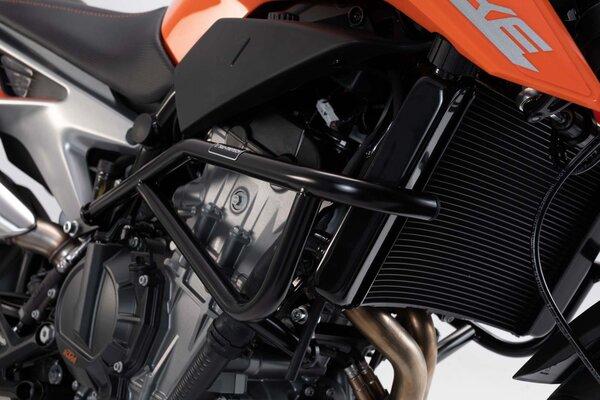 Protecciones laterales de motor Negro. KTM 790 Duke (18-).