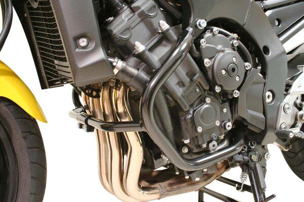 Protecciones laterales de motor Negro. Yamaha FZ1 / FZ1 Fazer (05-16).