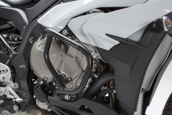 Barra di protezione motore Nero. BMW S 1000 XR (15-).