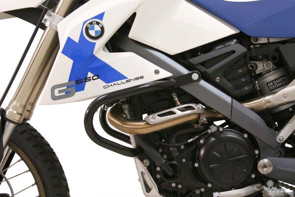 Sturzbügel Schwarz. BMW G650 xChal/xCount/xMoto (06-09).