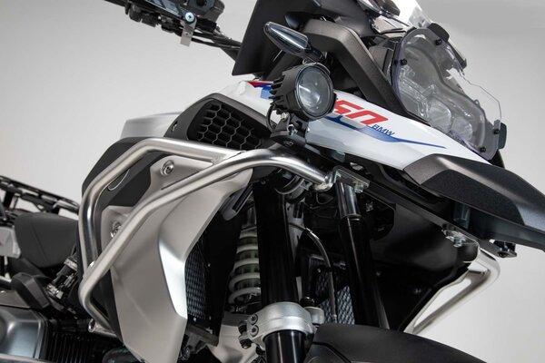 Protecciones de motor superiores Acero inoxidable. BMW R1200GS LC/Rallye, R1250GS.