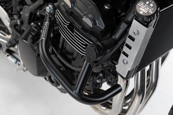 Barra di protezione motore Nero. Kawasaki Z 900 RS/ Cafe (17-).
