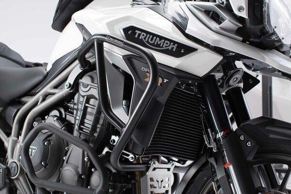Crash bar Black. Triumph Tiger 1200 / Explorer (15-).