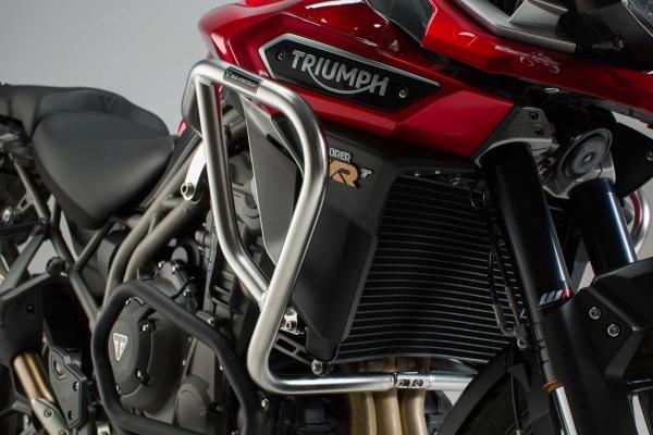 Barra di protezione motore Acciaio inox. Triumph Tiger 1200 / Explorer (15-).