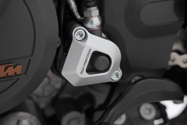 Kupplungsnehmerzylinder-Schutz Silbern. KTM Modelle.