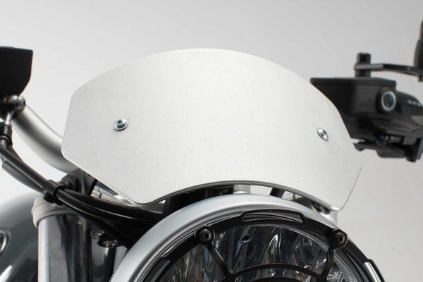 Windschild Silbern. BMW R nineT /5 (19-),  Pure (16-).