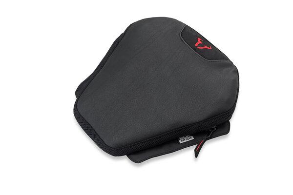 TRAVELLER RIDER cushion Black. 30.5 x 30 cm.
