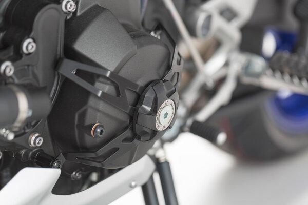 Protection de carter d\'alternateur Noir. Yamaha MT-09 (13-), XSR900 (15-) /Abarth.