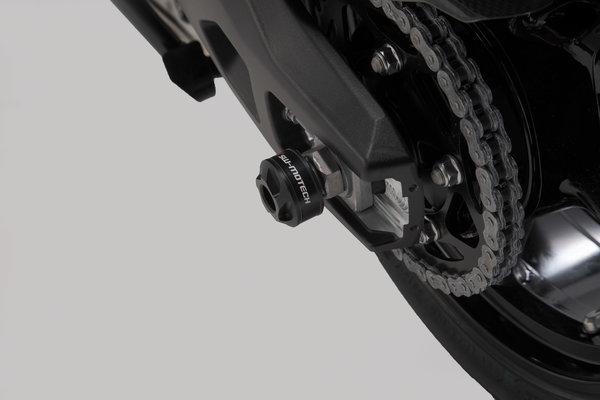 Slider set for rear axle Black. BMW S 1000 XR (15-).