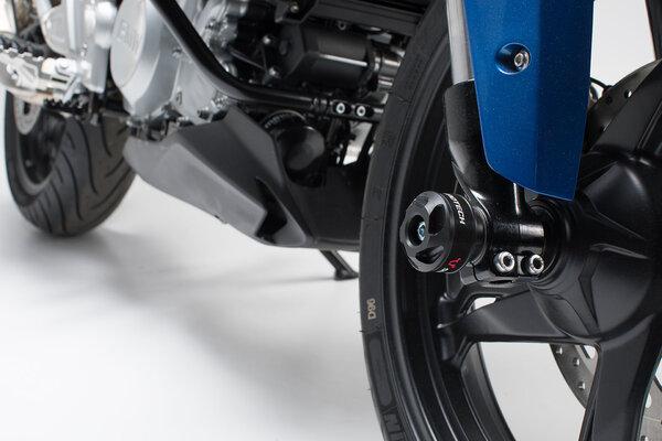Slider set for front axle Black. BMW G 310 R (16-).
