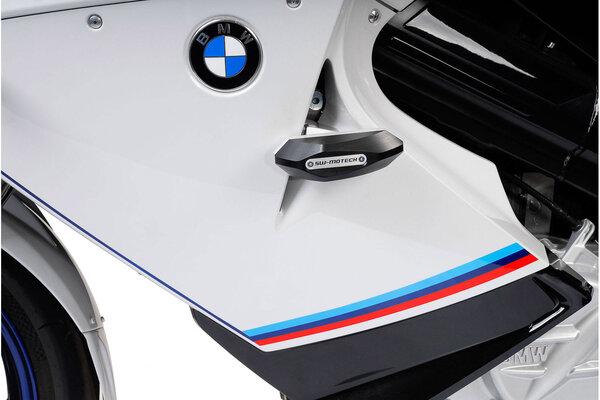 Sturzpad-Kit Schwarz. BMW F 800 ST (06-12).