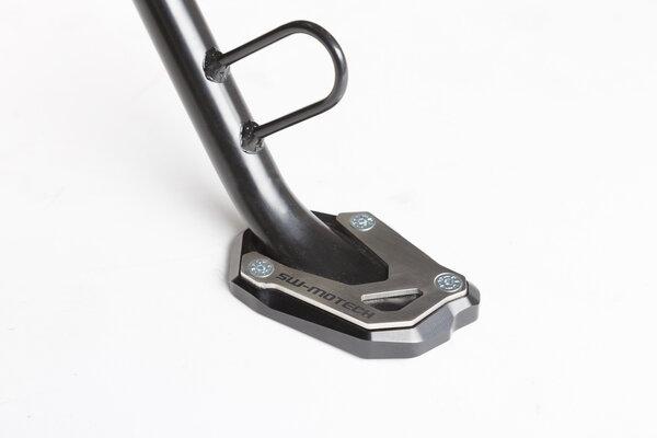 Extension de pied de béquille latérale Noir/Gris. V-Strom 1000 / 1050, GSX-S 1000/F.