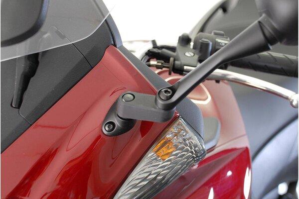 Extensión de retrovisor Negro. Máx. extensión: 40 mm. Honda.